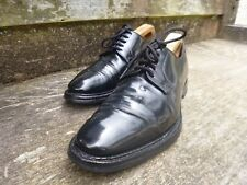CHURCH DERBY SHOES – BLACK –  UK 7.5 – BERN – VERY GOOD CONDITION