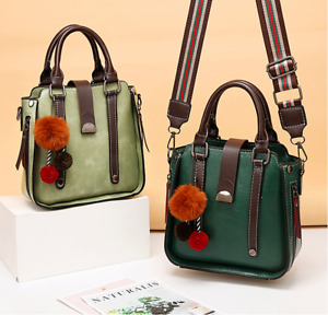 Women Shoulder Crossbody Bag Tote Women PU Leather Casual Handbag Messenger
