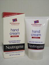 Neutrogena Norwegian Formula Hand Cream Original New