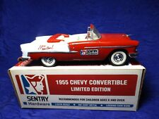 1955 Chevy Convertible Sentry Hardware Bank 1:25 Die Cast Liberty Classic