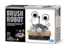 Brush Robot by 4M, Fun Mechanics Kit A Robotic Mobile Sweeper