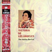 VICTORIA DE LOS ANGELES. The Jubilee Recital. LaserDisc.