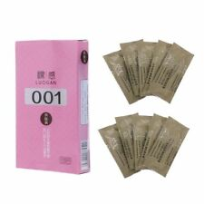10 PCS Adults Condoms Ultra Thin 001 Condoms Ultra Erotic Large Oil Condoms
