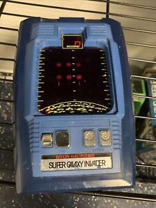 Vintage 1979 Bandai Electronics Super Galaxy Invader Handheld Arcade Game ~WORKS