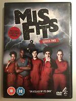 Iwan Rheon Lauren Socha MISFITS ~ Season 2 ~ British Comedy Series UK DVD