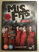 Iwan Rheon Lauren Socha MISFITS ~ Season 2 ~ British Comedy Series UK DVD