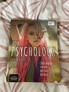 AQA Psychology A Level Textbook - Year 2