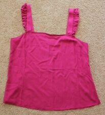 NEW Portmans Women's pink tank cami SIZE 12 RRP 59.95