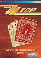 ZZ Top - Live In Germany 1980 - 2014 (NEW DVD)