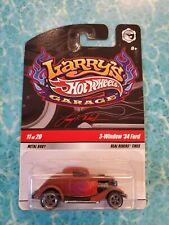 Hot wheels Larry's garage 3-window '34 Ford Pirmer  w/ Gray wheels