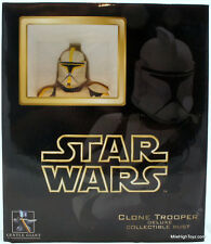 Star Wars Gentle Giant Deluxe Clone Trooper Commander Collectible Mini Bust