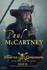 PIRATES OF THE CARIBBEAN DEAD MAN TELL NO TALES MANIFESTO PAUL MCCARTNEY DEPP