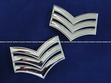 Obsolete Royal Hong Kong Police Force SERGEANT Metal Arm Badge Limited 100% New