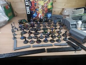 LARGE COLLECTION OF MARVEL CRISIS PROTOCOL MINIATURES WELL PAINTED + CORE SET