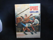 SEALED Vintage 1965 Aurora Jack Dempsey vs Firpo Model Great Moments in Sport