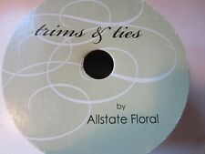 NWT Trims & Ties by Allstate Floral cloth ribbon roll GREAT QUALITY