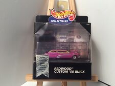 Hot Wheels 100% Collectible Limited Edition Black Box Redwood Custom '50 Buick