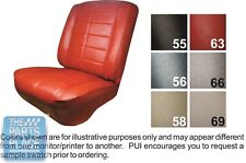 1963 Rivera Black Front Buckets Seat Covers - PUI