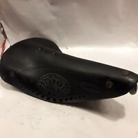 Rare Vintage 1960s French Ideale Record 43 leather saddle