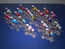 18 cyclistes miniatures World Tour 2019 - Tour de france Giro - Cycling figure
