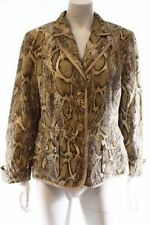 Spring Animal Print Regular Size Coats & Jackets for Women