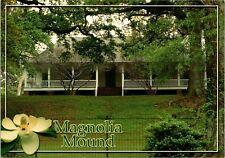 Magnolia Mound Plantation Baton Rouge Louisiana Vintage Continental Postcard