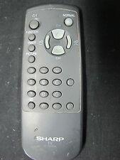 GENUINE SHARP TV/AV REMOTE CONTROL MODEL : G1179PESA