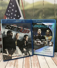 Blu-Ray 2 Movie Disc Used Lot SET UP / The Lookout Bruce Willis .50 Cent