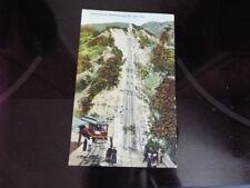 Great Incline 3000 Feet Long Mt Lowe California Railroad Train Trolley Vntg PC d