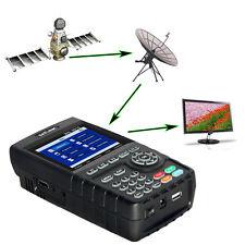 Nouveau SATLINK WS6916 HD Mesureur de Champ HD DVB-S/S2 SATELLITE Pointeur MPEG4