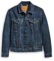 Levi's Strauss Men's Premium Cotton Button Up Denim Jean Jacket 723340309