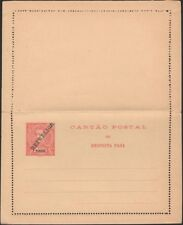 TIMOR, 1912. Paid Reply Letter Card H&G 12, Mint
