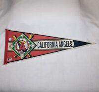 "WinCraft Sports 1986 -1992  ""CALIFORNIA ANGELS"" 31"" Felt Pennant"
