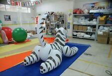 Can Withstand 300 Pounds of Body Weight White Inflatable Tiger Size 6.56ft Long