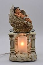 Caucasian Baby Burner Wax Tart Scented Oil Candle Warmer Electric Polyresin