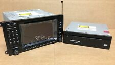 05~08 GENUINE Porsche Cayenne Turbo Navigation PCM2.1 Monitor Radio +DVD Nav SET