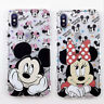 Cute Mickey Minnie Cover For iPhone XS Max XR 6S 8 7 Plus Disney Soft Phone Case