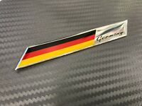 Germany Flag Emblem Sticker 3D Decal For Any  Auto Car & Truck 97x14 mm #P6