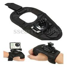 New Glove Mount Wrist Band Hand Strap for GoPro Camera Hero 1/2/3/3+/4/5 Black