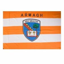 Armagh GAA Official 5 x 3 FT Flag - Large Crested Irish Gaelic Football Hurling