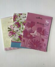 Hallmark Writing Pads & Envelopes - Various designs