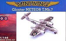 MiniWing Models 1/144 GLOSTER METEOR T.Mk.7 British Royal Air Force