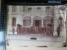 BUYMUC XL Albumin Foto 1870/71 Krieg Kronprinz mit Offizieren Orden