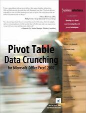 Pivot Table Data Crunching for Microsoft Office Excel 2007 by Bill Jelen