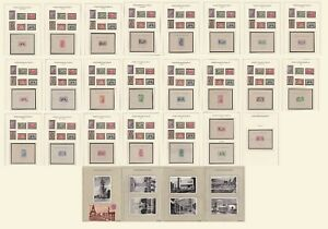 French Colonies, 1937, Omnibus, MNH** (ex.Togo, I/China sheets-MH**) + Postcards