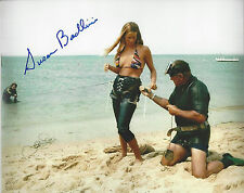 Jaws 1st Victim autographed 8x10 Preparation photo to go in Bonus of signing