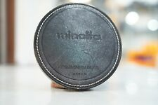 Minolta RF 800mm F8 Mirror Lens Leather Push-on Lens Cap 120mm Diameter
