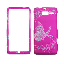 Hot Pink Butterfly Design for Motorola Droid RAZR M Xt907 Protector Case Cover