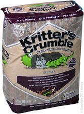 Reptile One R1-45546 Kritter Crumble Coarse 20L Bedding for Terrarium & Vivarium