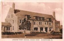 Postcard Pennsylvania Elizabethtown Masonic Home Lancaster Memorial Hall 1941
